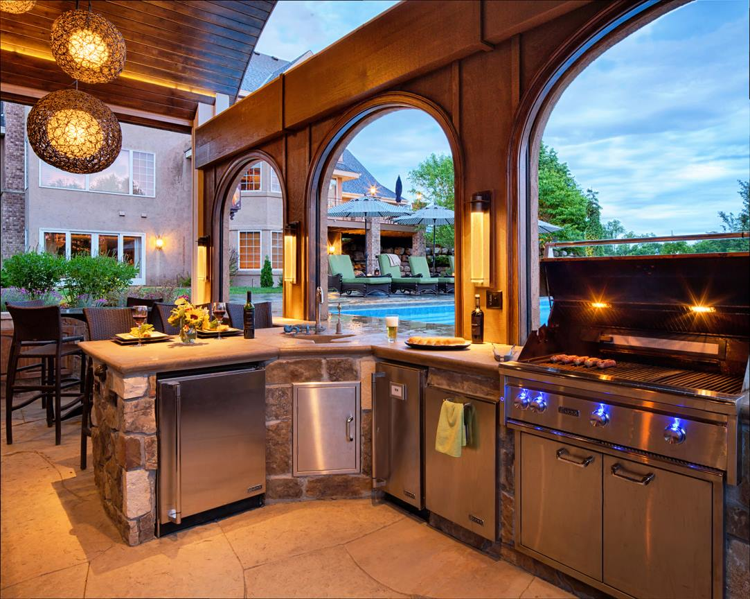 Lynx…Everything For The Outdoor Kitchen - Plesser's ... on Outdoor Kitchen With Pool Ideas id=60419