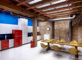 red-fridge-washer-office