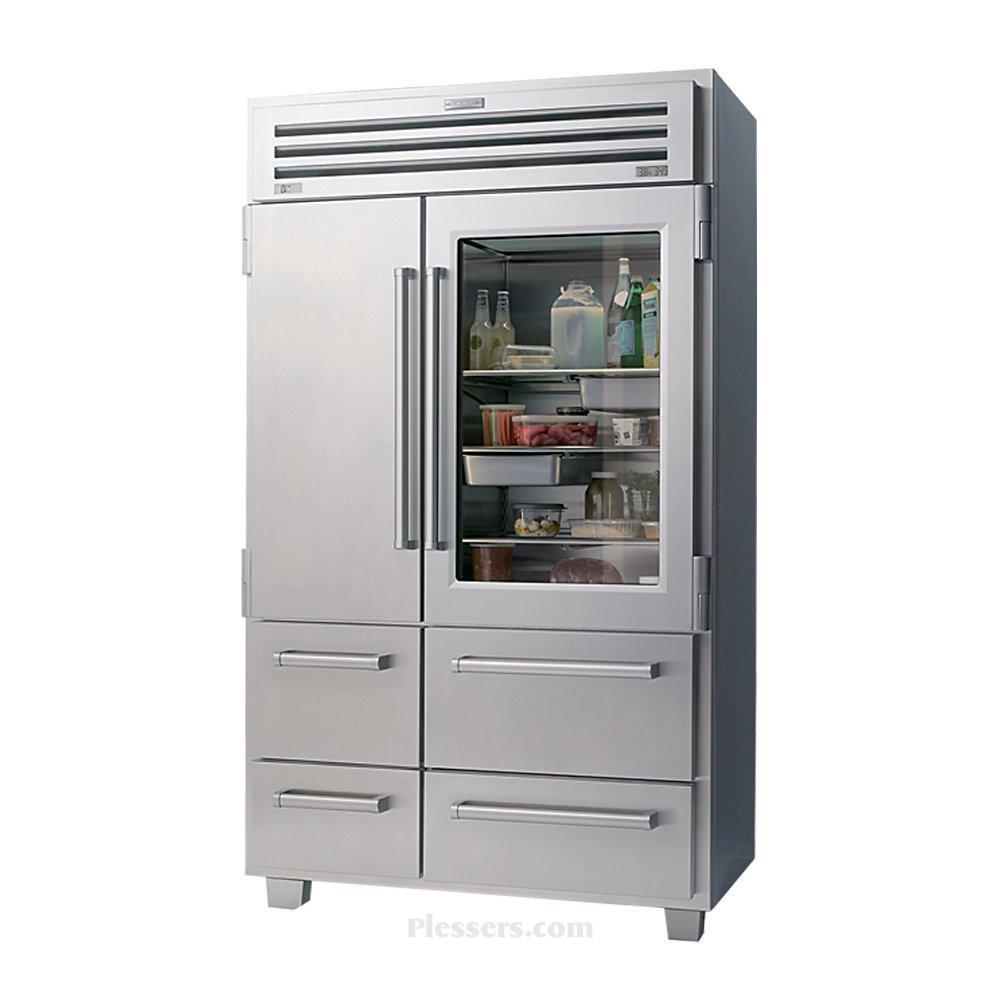 Sub Zero Glass Door Refrigerator sub zero fridges – plesser's appliance blog